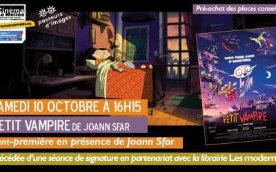 Joann Sfar au Méliès le samedi 10 octobre