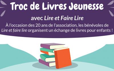 """Troc de livres jeunesse avec """"Lire et Faire Lire"""""""